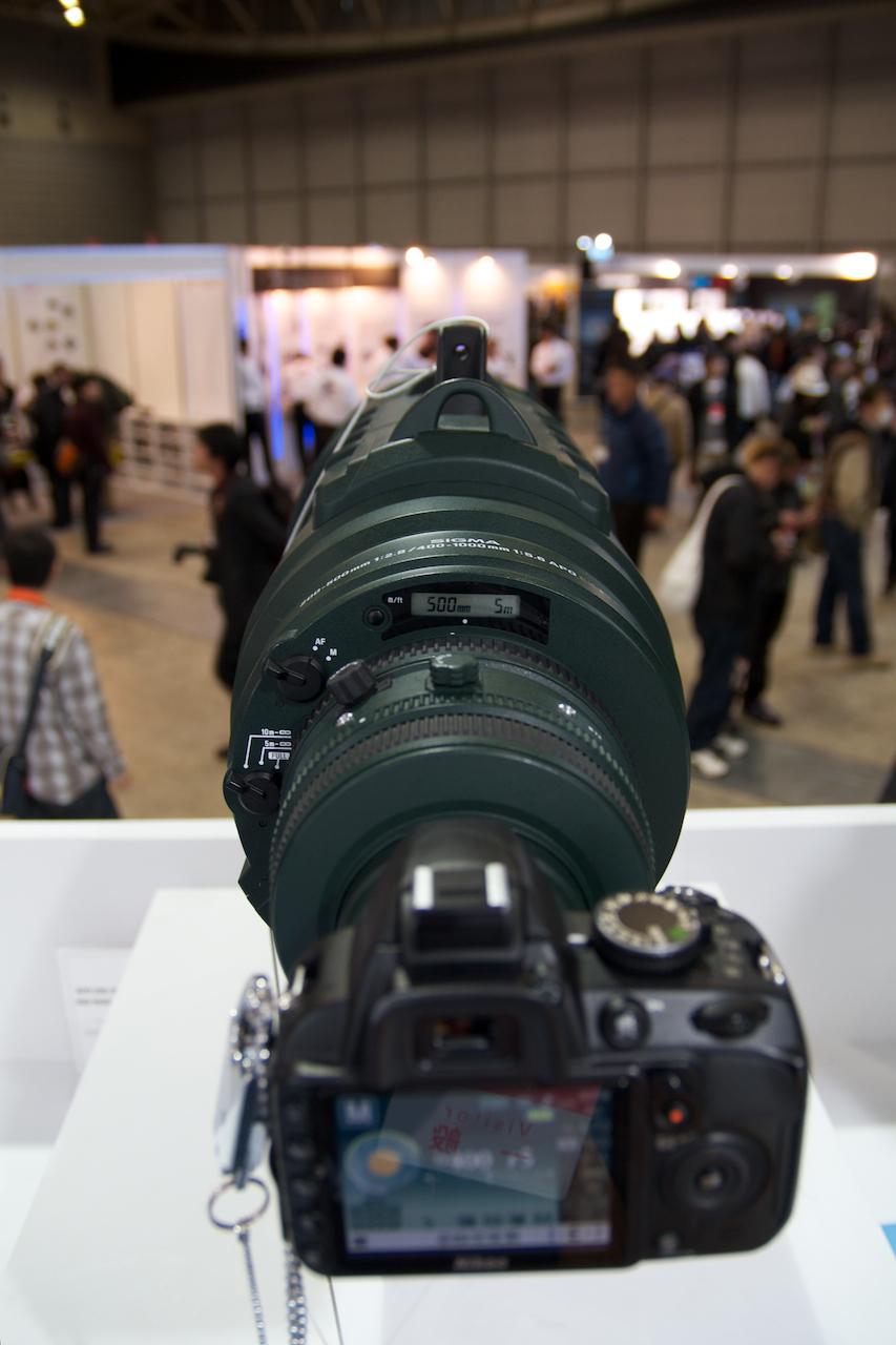 APO 200-500mm F2.8 / 400-1000mm F5.6 EX DG 側面 - 写真共有サイト「フォト