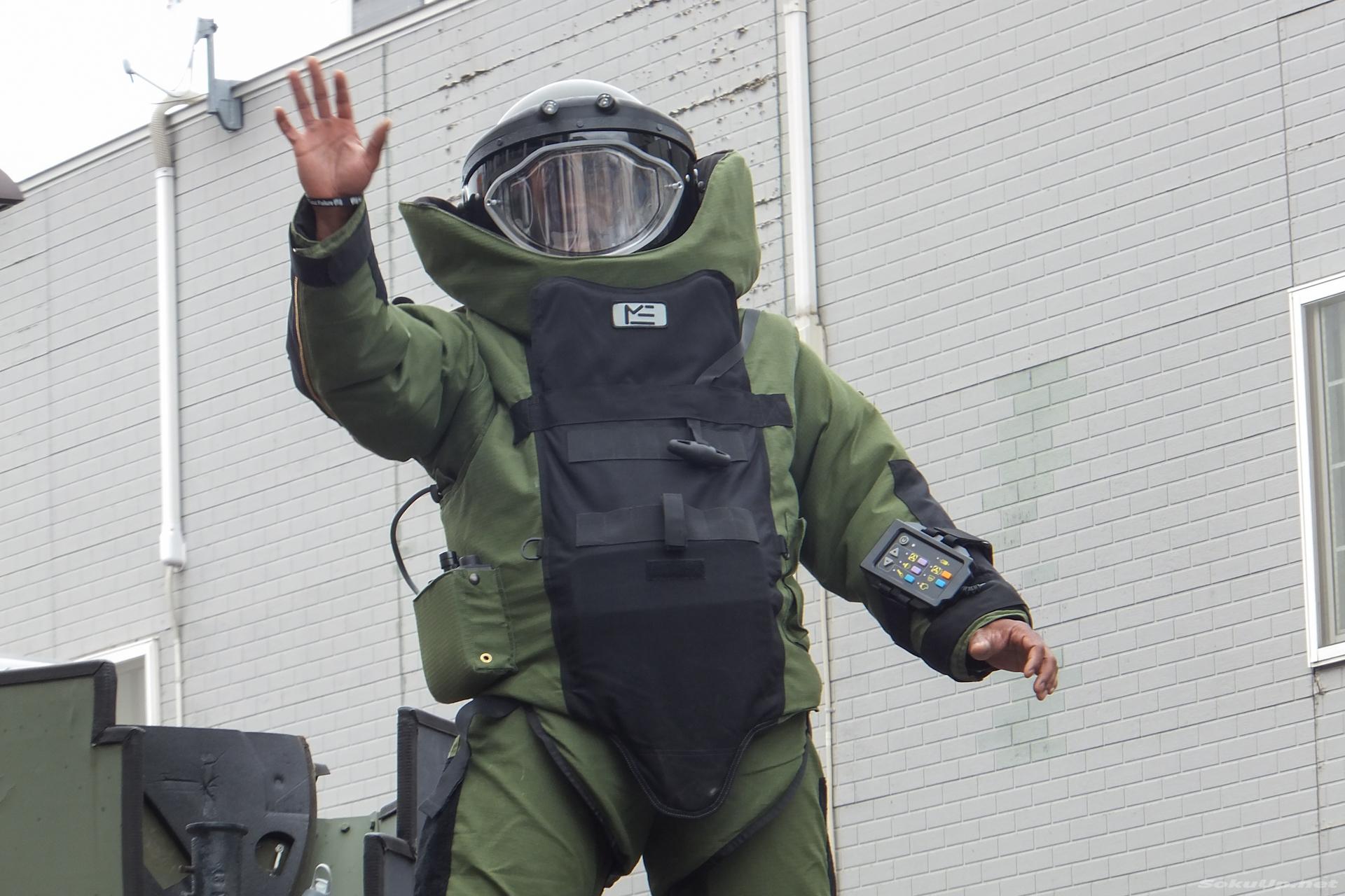 爆発物処理班