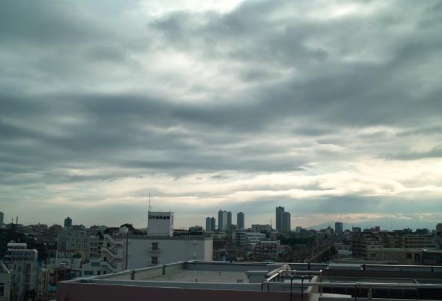 soku_01767.jpg :: 曇り空 自然 風景 空 暗雲