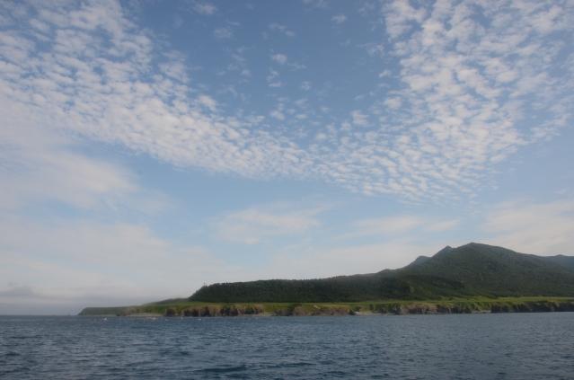 soku_04069.jpg :: 自然 風景 海 雲 空 知床岬