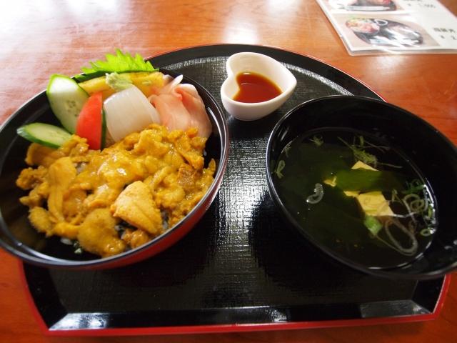 soku_07583.jpg :: ウニ丼 食べ物 和食 丼