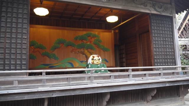 soku_08054.jpg :: 獅子舞 和風建築