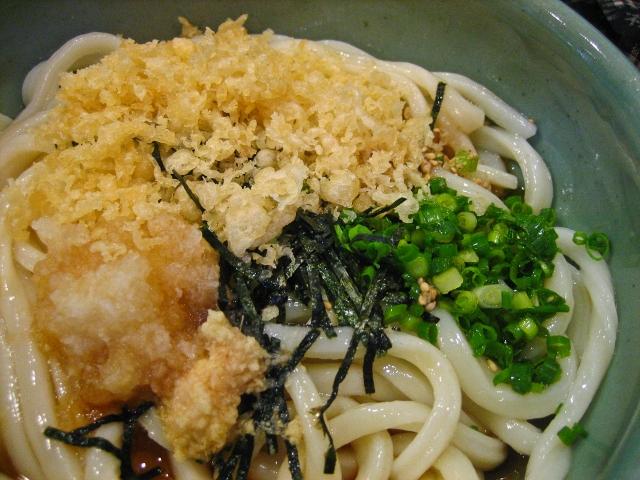 soku_09107.jpg :: 食べ物 麺類 うどん ぶっかけうどん