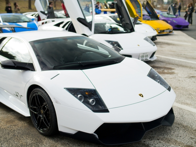 soku_09820.jpg :: 乗り物 交通 自動車 スポーツカー スーパーカー Lamborghini