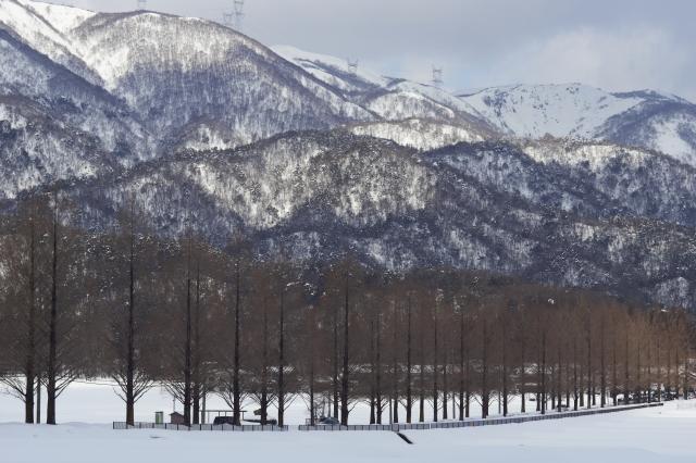 soku_10124.jpg :: NEX.7作例 風景 自然 雪景色 雪山