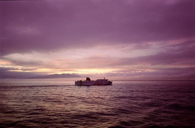 soku_10141.jpg :: 乗り物 交通 船 フェリー サンフラワー