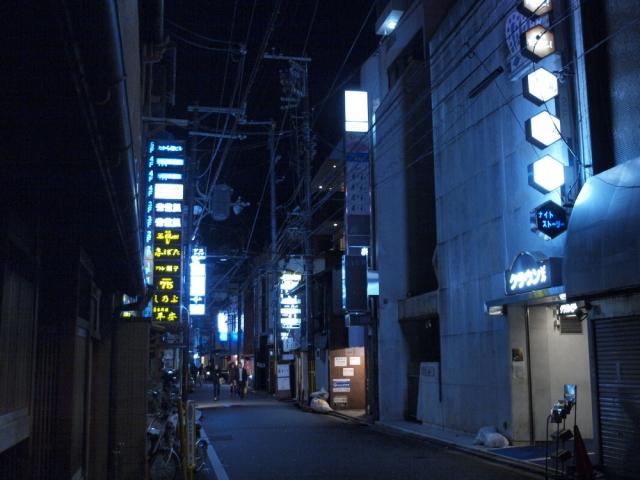 soku_10180.jpg :: 風景 街並み 都市の風景 繁華街 夜景