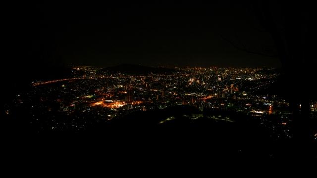 soku_34894.jpg :: 風景 街並み 郊外の風景 夜景