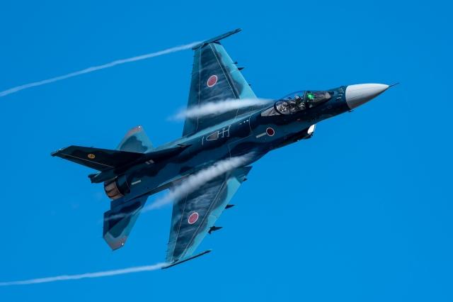 soku_36287.jpg :: 乗り物 交通 飛行機 軍用機 F-2A 築城基地航空祭