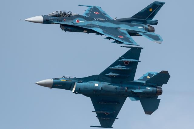soku_36294.jpg :: 乗り物 交通 飛行機 軍用機 F-2A 築城基地航空祭