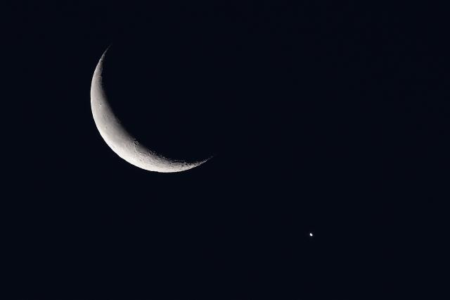soku_36310.jpg :: 風景 自然 天体 月 金星
