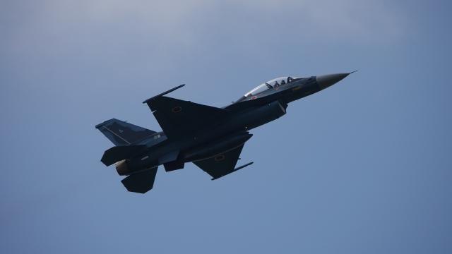 soku_36638.jpg :: 松島基地航空祭 F-2 乗り物 交通 航空機 飛行機 軍用機