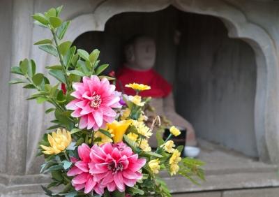 soku_00035.jpg :: 地蔵 墓 花