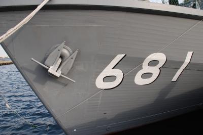 soku_00544.jpg :: 海上自衛隊 掃海艇 すがしま 木造船