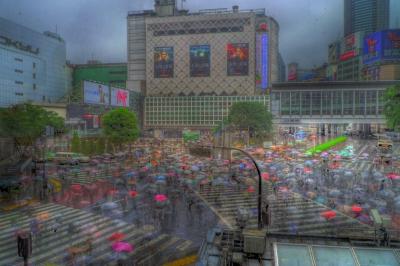 soku_01354.jpg :: HDRのサンプル 渋谷駅前
