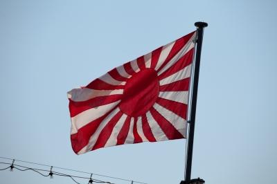 soku_01375.jpg :: 新潟市 山の下埠頭 DD.154 あまぎり Amagiri 海上自衛隊 護衛艦 自衛艦 十六条旭日旗 自衛艦旗