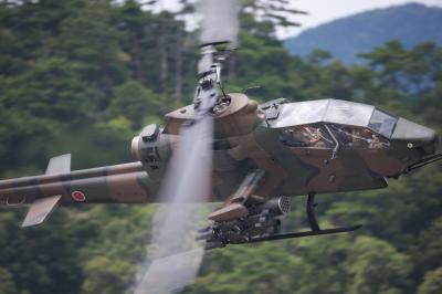 soku_01844.jpg :: 乗り物 ヘリコプター AH-1 コブラ 陸上自衛隊