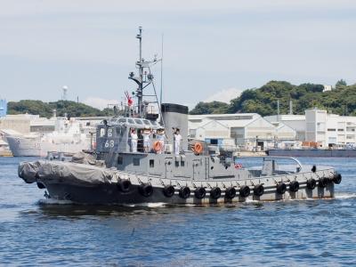 soku_01916.jpg :: 横須賀サマーフェスタ② 曳船 YT.68