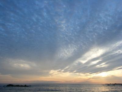 soku_02375.jpg :: 自然 風景 夕日 夕焼け 日没 千葉館山
