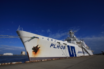 soku_03839.jpg :: 第九管区海上保安本部巡視船体験航海「がんばろう日本!!」 PLH08 巡視船えちご 空 by Niigata