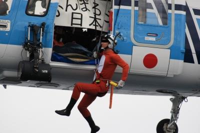soku_04075.jpg :: 第九管区海上保安本部巡視船体験航海「がんばろう日本!!」 シコルスキー S.76C 海猿 空 by Niigata