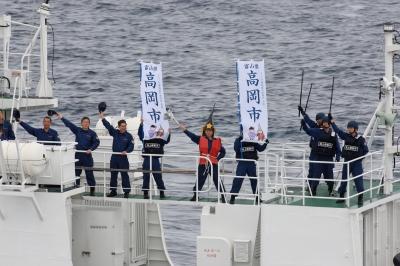 soku_04077.jpg :: 第九管区海上保安本部巡視船体験航海「がんばろう日本!!」 PS203 巡視船のりくら by Niigata