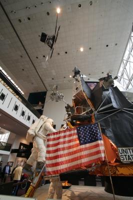 soku_04335.jpg :: 月着陸船 イーグル 博物館 (^_^)