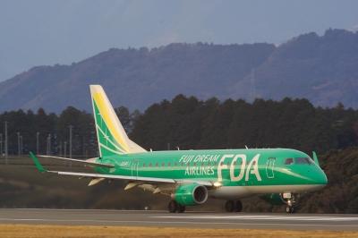 soku_05284.jpg :: 飛行機 ヒコーキが足りない by FSZ FDA エンブラエル170 グリーン