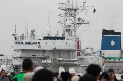 soku_05558.jpg :: 海上保安庁 巡視船 みずほ型巡視船 みずほ 名古屋港 接岸 国土交通省 第三管区 東京 公務員 海の警察 うみまる