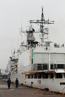 soku_05584.jpg :: 海上保安庁 巡視船 みずほ型巡視船 みずほ 左舷後方 船体 名古屋港 接岸