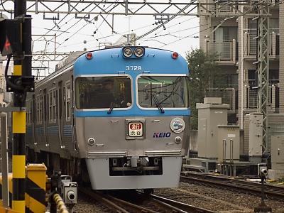 soku_05641.jpg :: 乗り物 交通 鉄道 電車 井の頭線 3000系 ②