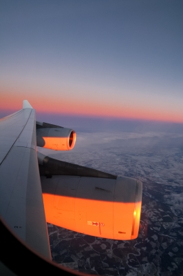 soku_05760.jpg :: ヒコーキ 飛行機 A340 14mm(22.5mm) 広角 (^_^)