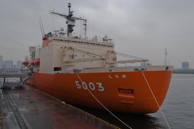 soku_05798.jpg :: 乗り物 交通 船 護衛艦 AGB.5003 しらせ Shirase (二代目しらせ) 東京港晴海埠頭