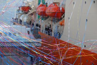 soku_05799.jpg :: 乗り物 交通 船 護衛艦 AGB.5003 しらせ Shirase (二代目しらせ) 東京港晴海埠頭 2009