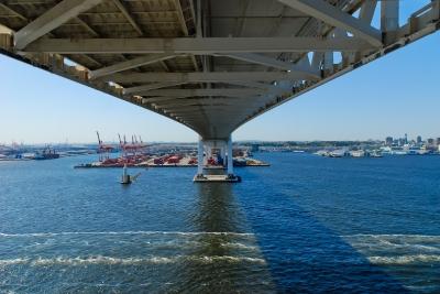 soku_05980.jpg :: 建築 建造物 橋 横浜ベイブリッジ