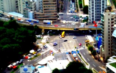 soku_05989.jpg :: 建築 建造物 街並み オフィス 店舗 ビル ミニチュア風