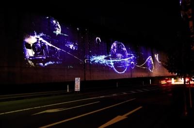 soku_06022.jpg :: 夜景 花巻 未来都市銀河地球鉄道