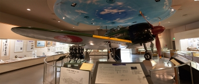 soku_07026.jpg :: 乗り物 交通 航空機 飛行機 自衛隊資料館 零式戦闘機