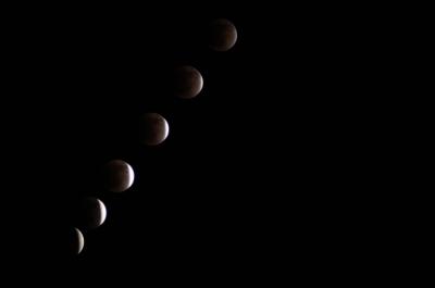 soku_07146.jpg :: D5000 風景 自然 天体 月 皆既月食 インターバルタイマー