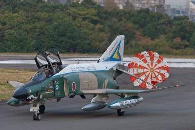 soku_07162.jpg :: 乗り物 交通 航空機 飛行機 偵察機 RF-4EJ ファントムII 記念塗装