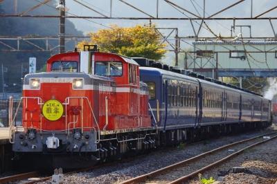 soku_07233.jpg :: 乗り物 交通 鉄道 デーゼル機関車 DL碓氷