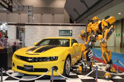 soku_07355.jpg :: 東京モーターショー トランスフォーマー トミカ 車 ガンプラ ガンダム