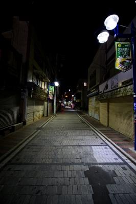 soku_07367.jpg :: 横須賀 どぶ板通り 夜景