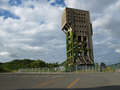soku_07378.jpg :: 建築 建造物 廃墟 塔 タワー