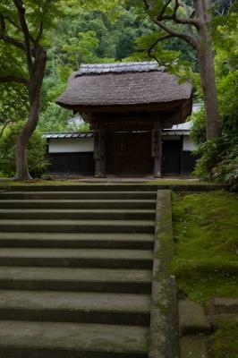 soku_07593.jpg :: 建築 建造物 街並み 郊外の風景 山村 和風建築 立派な門