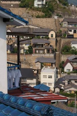 soku_07810.jpg :: 建築 建造物 街並み 住宅 階段 広島県呉市両城地区