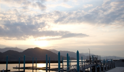 soku_07915.jpg :: 広島 元宇品 風景 自然 空 朝日 朝焼け 日の出 正月 元旦 初日の出