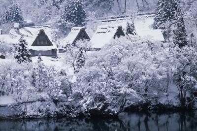 soku_08041.jpg :: 五箇山 風景 自然 雪景色