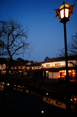 soku_08245.jpg :: 建築 建造物 街並み 郊外の風景 夕方 倉敷