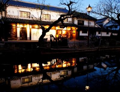 soku_08246.jpg :: 建築 建造物 街並み 郊外の風景 夕方 倉敷